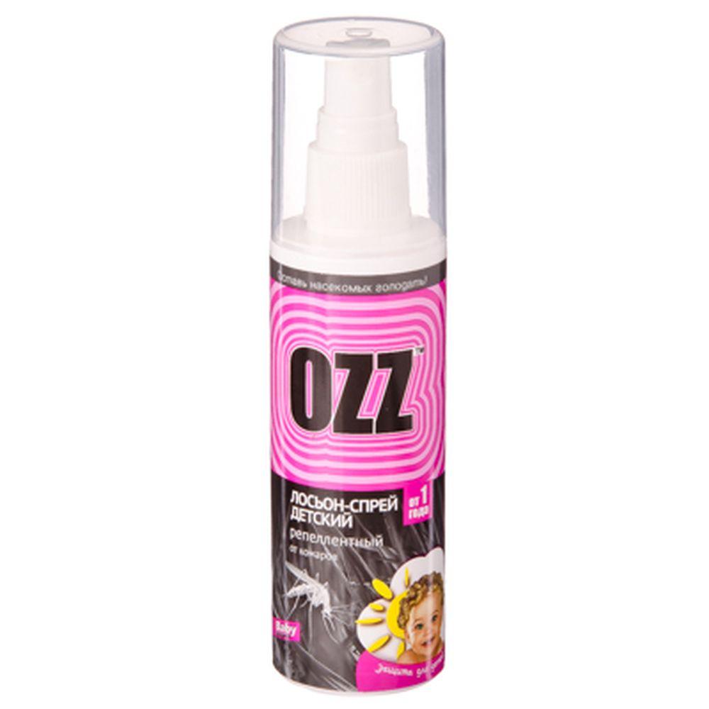 OZZ Бэби лосьон-спрей детский антимоскитный, с 1 года, 100мл, арт.020804