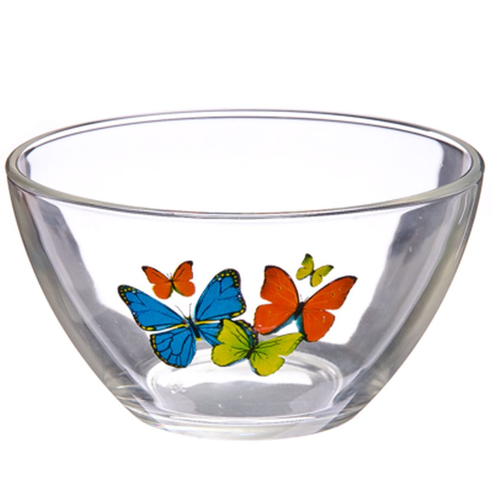 """ОСЗ Салатник, стекло, 11см, """"Танец бабочек"""", 07с1322"""
