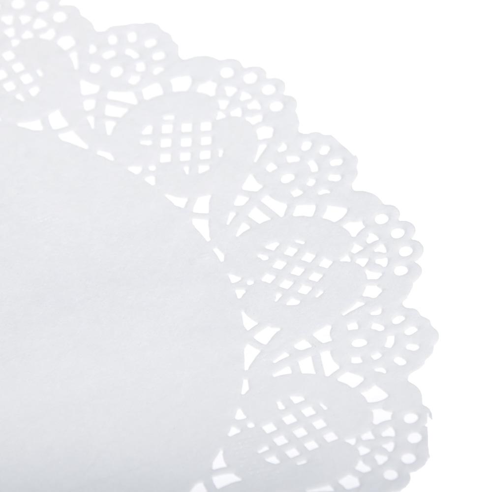 Набор салфеток ажурных под выпечку 10х3 шт, d11,5/6,5/21,5 см, бумага