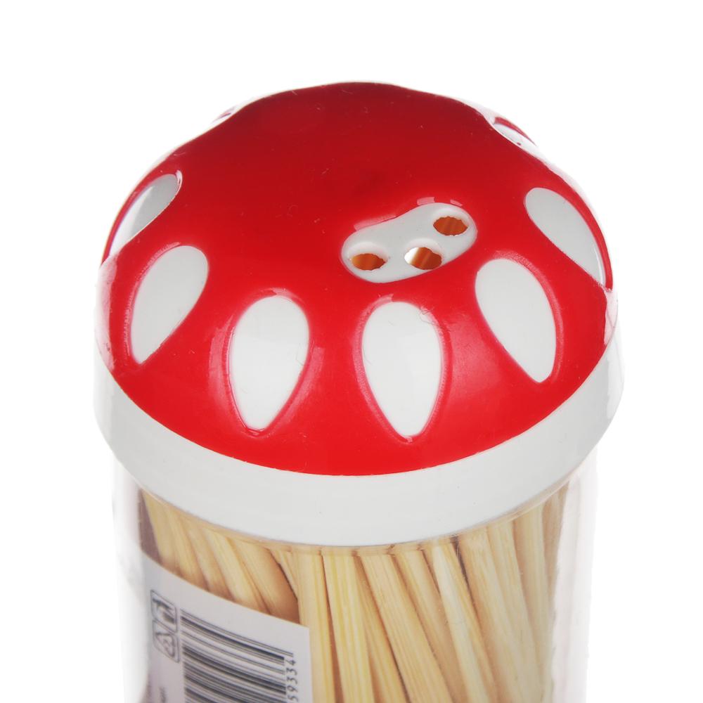 Зубочистки из бамбука 100 шт, пластиковая упаковка, VETTA