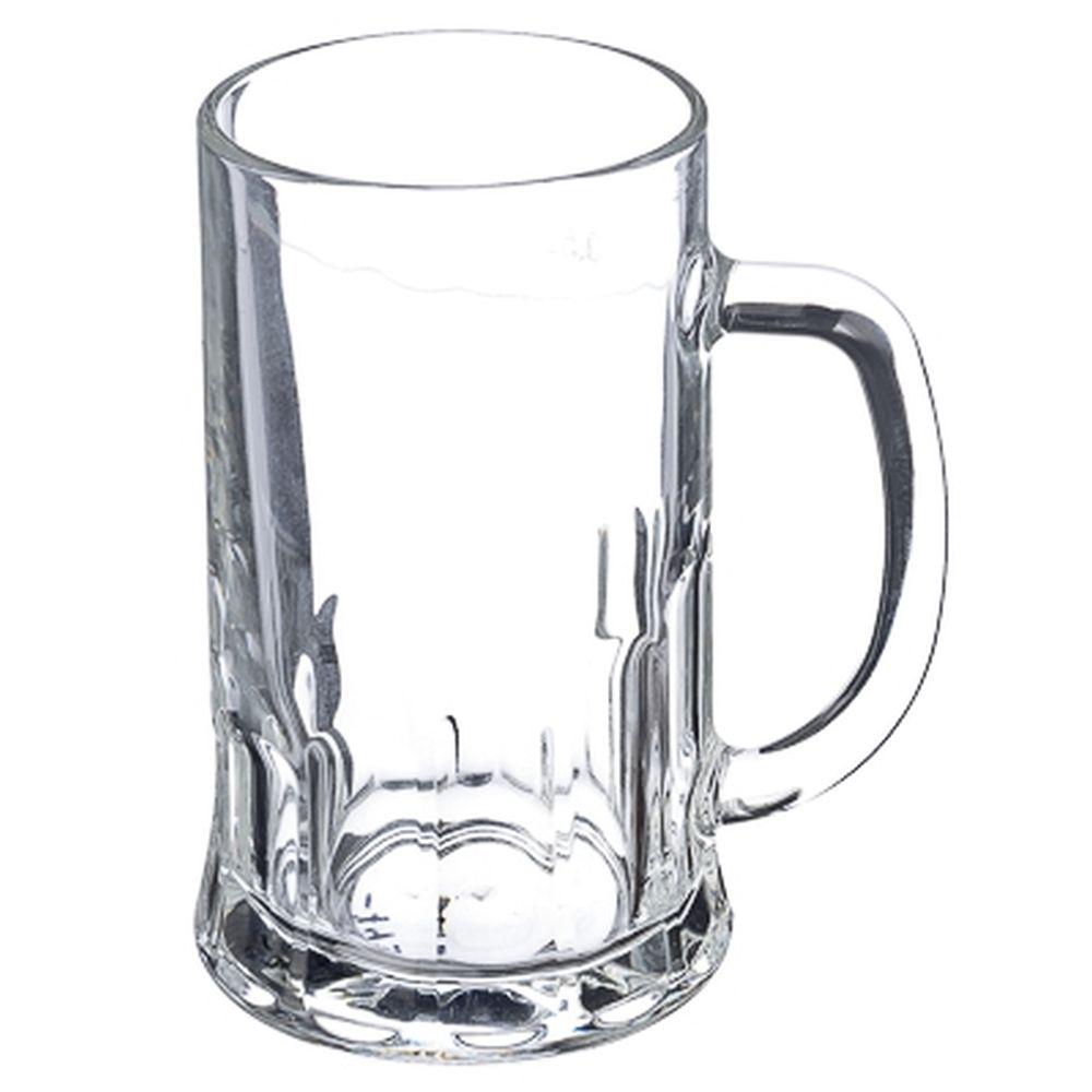 """ПРОМО ОСЗ Кружка для пива """"Пит"""", 500мл, стекло, арт. 05с1253-54"""