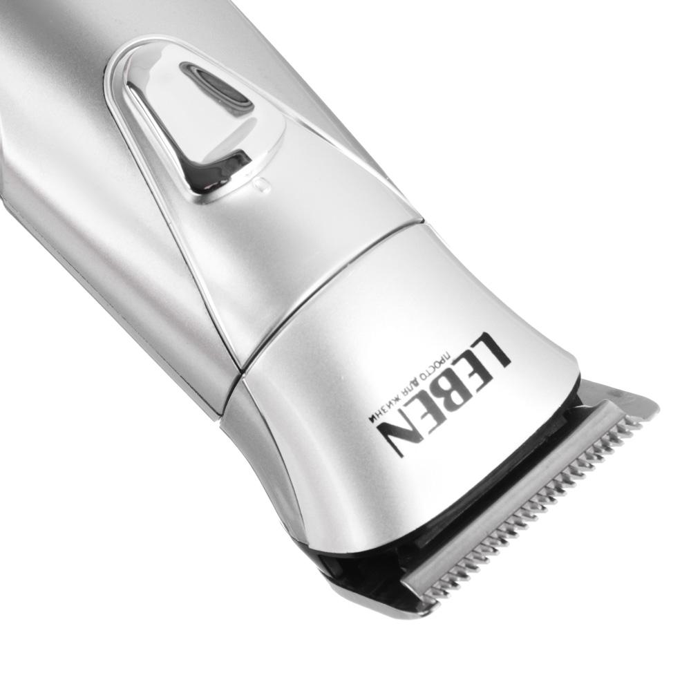 LEBEN Машинка для стрижки волос 3Вт, регулируемая насадка, 5 уровней IW-9200
