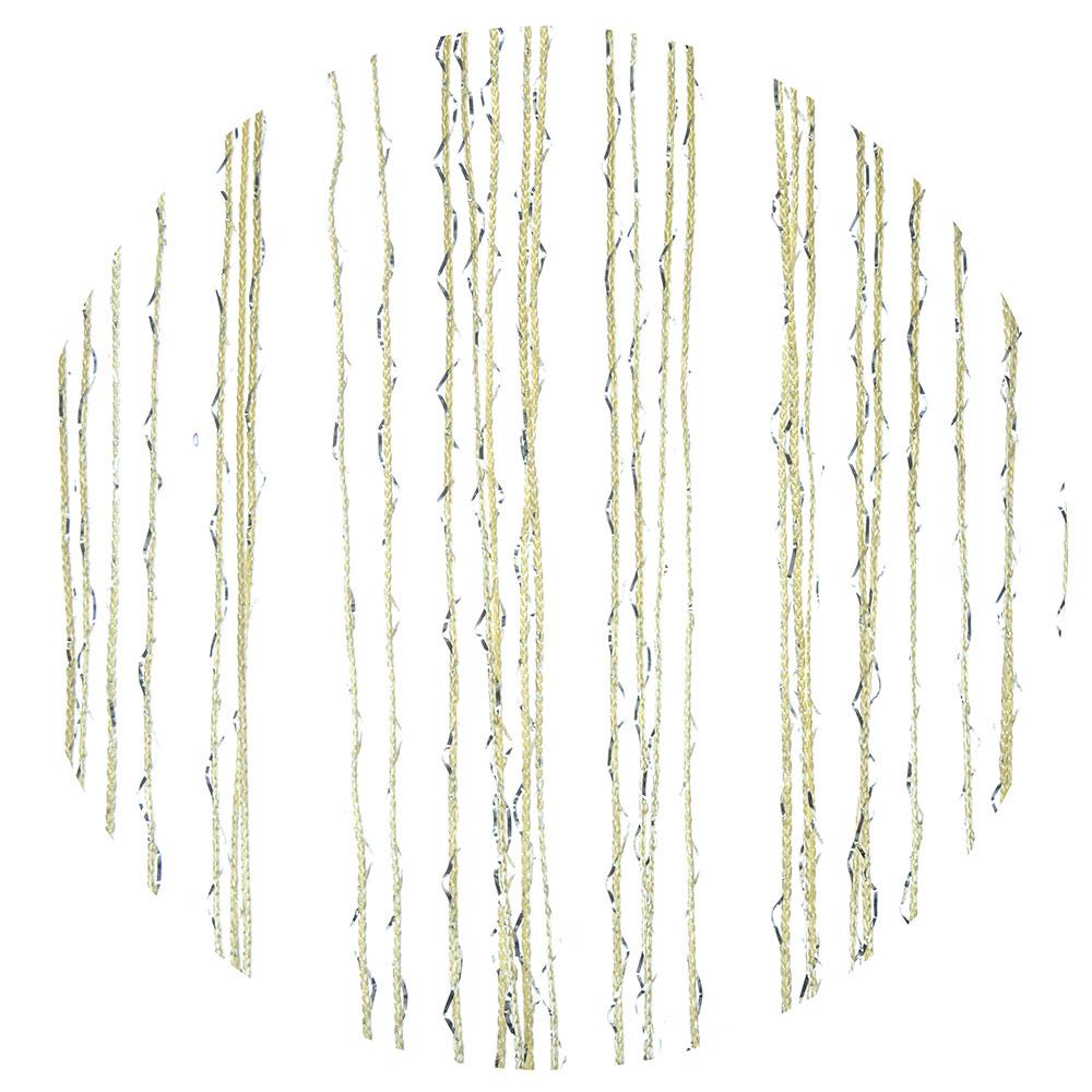 Занавеска нитяная межкомнатная однотонная, полиэстер, 1х2м, 5 цветов
