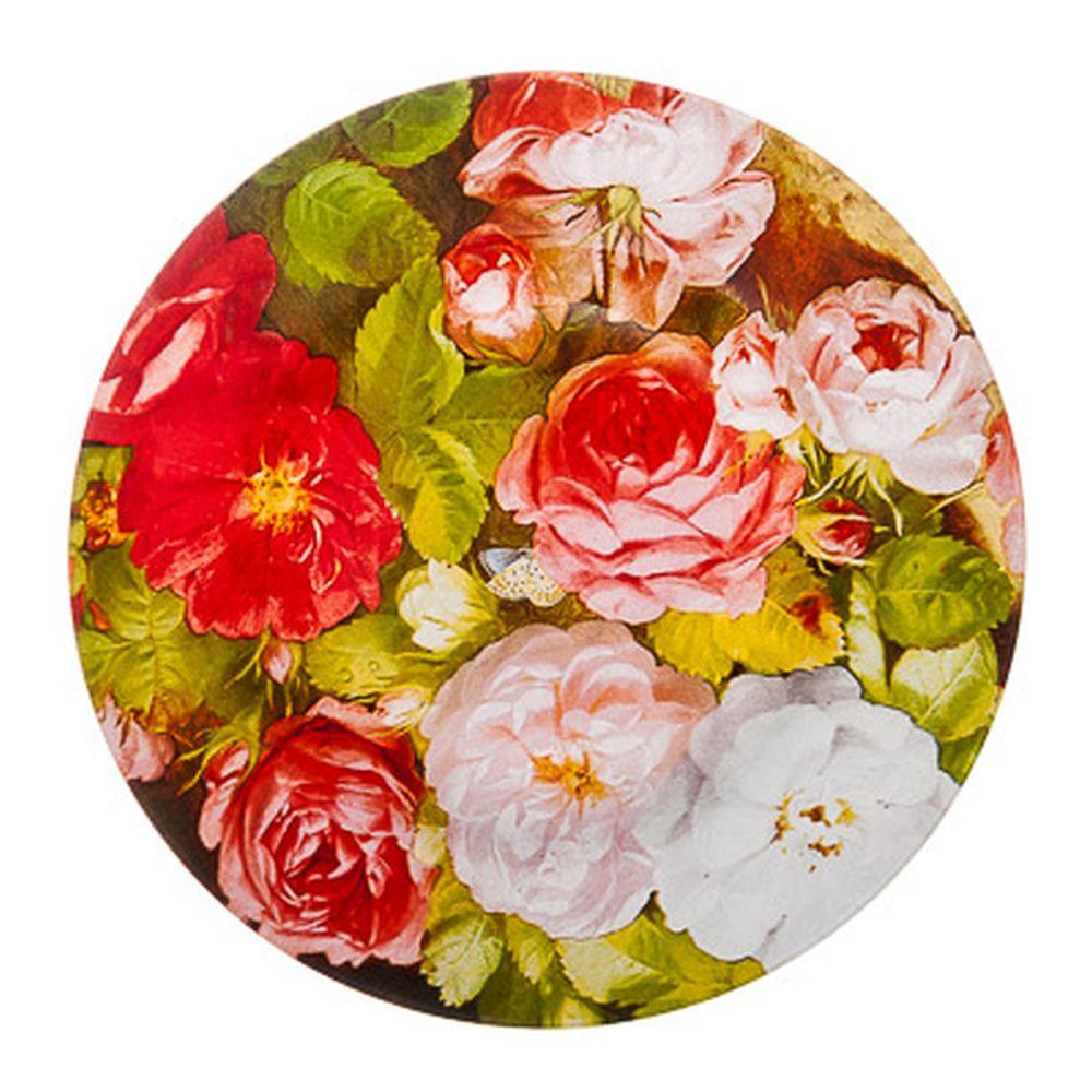 VETTA Розы Тарелка десертная стекло 200мм, S3008, Дизайн GC