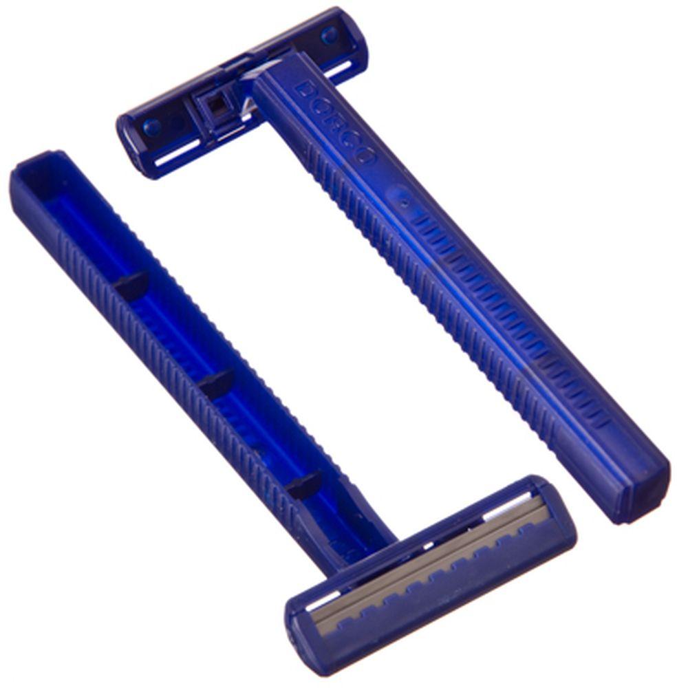 Станок для бритья с двойным лезвием 1шт ДОРКО, без увлаж.полоски, блистер, TD-708