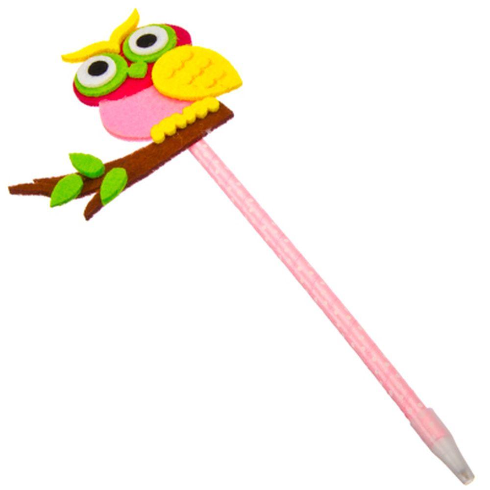 Ручка шариковая, 22 см, пластик, 3 дизайна