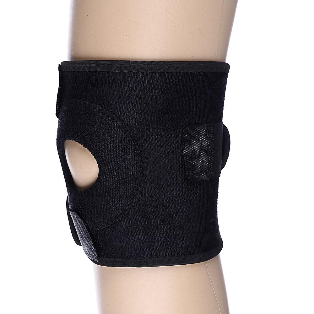 Суппорт на колено на липучке, полиэстер, неопрен, 50х15 см, SILAPRO