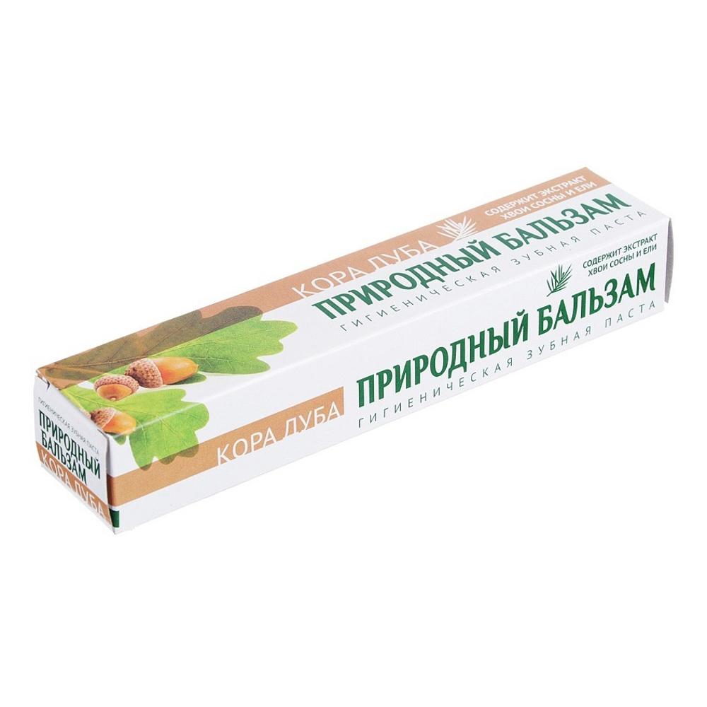 Зубная паста Природный бальзам Кора дуба, к/у 100гр, 8008