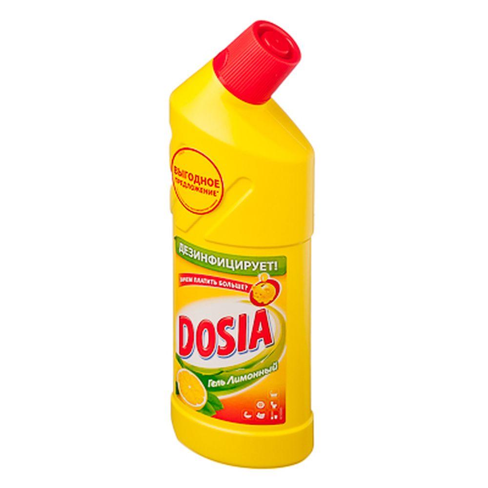 Средство чистящее-гель DOSIA универсальное Лимон 750мл