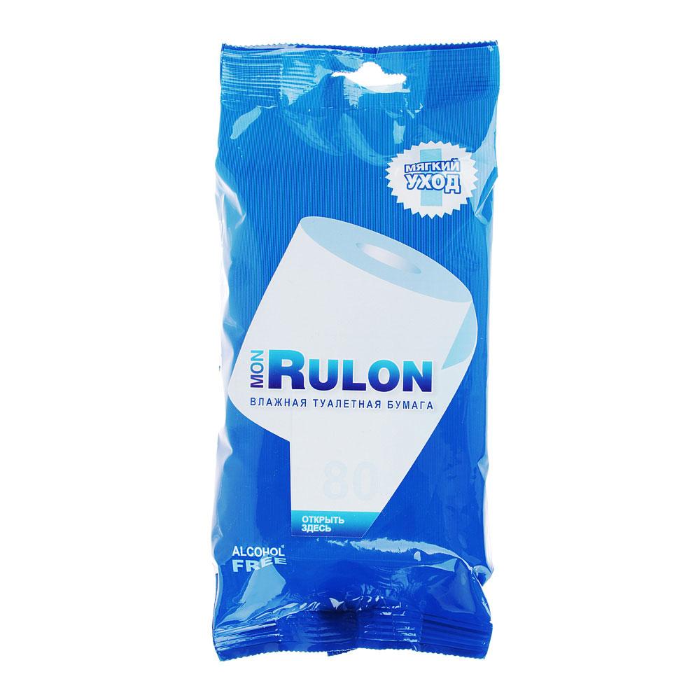 Mon Rulon Туалетная бумага влажная 80шт