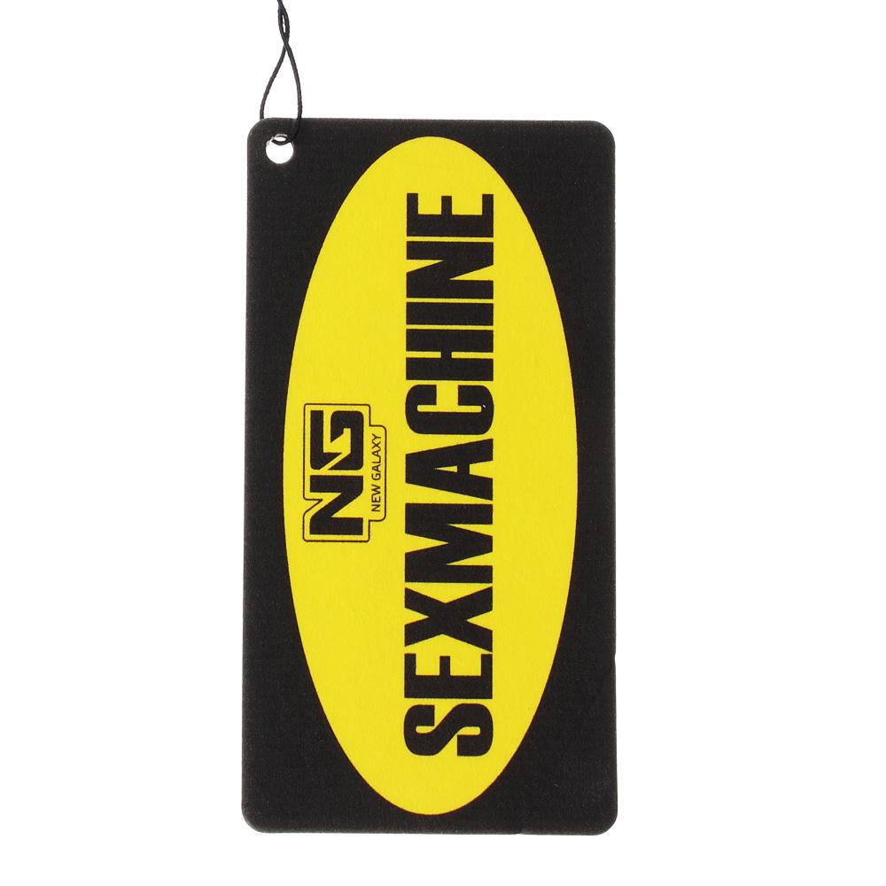 """Автомобильный ароматизатор бумажный, аромат ваниль, """"Danger/Sexmachine"""" NEW GALAXY"""