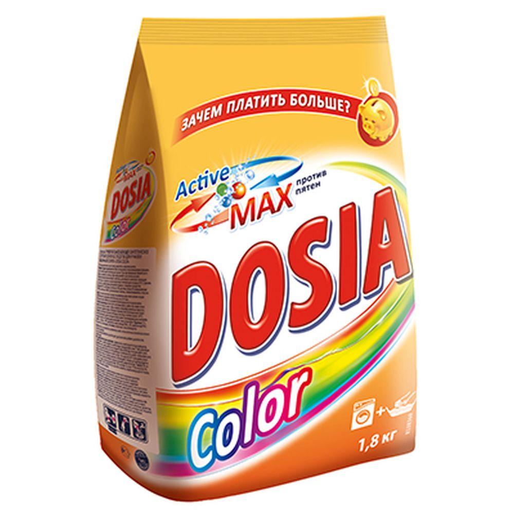 Стиральный порошок DOSIA Колор 1,8кг