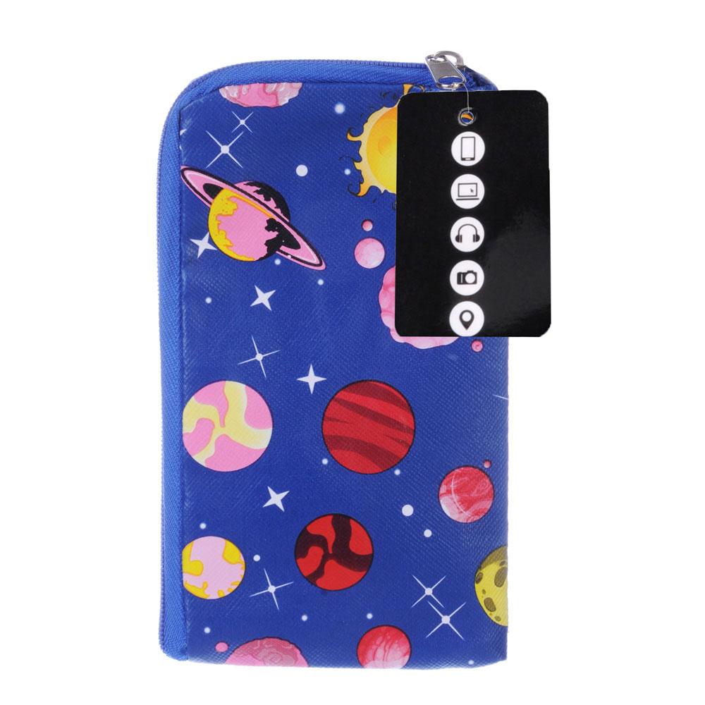 Чехол для телефона универсальный, ПУ, 15х8х0,5см, 4 цвета ,#MC2015-21