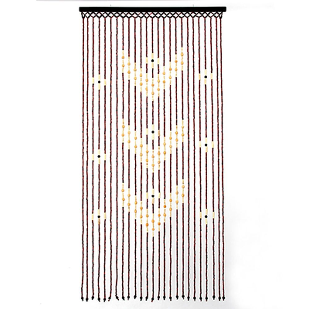 Шторы декоративные, бамбук, 175x90см, арт.2501