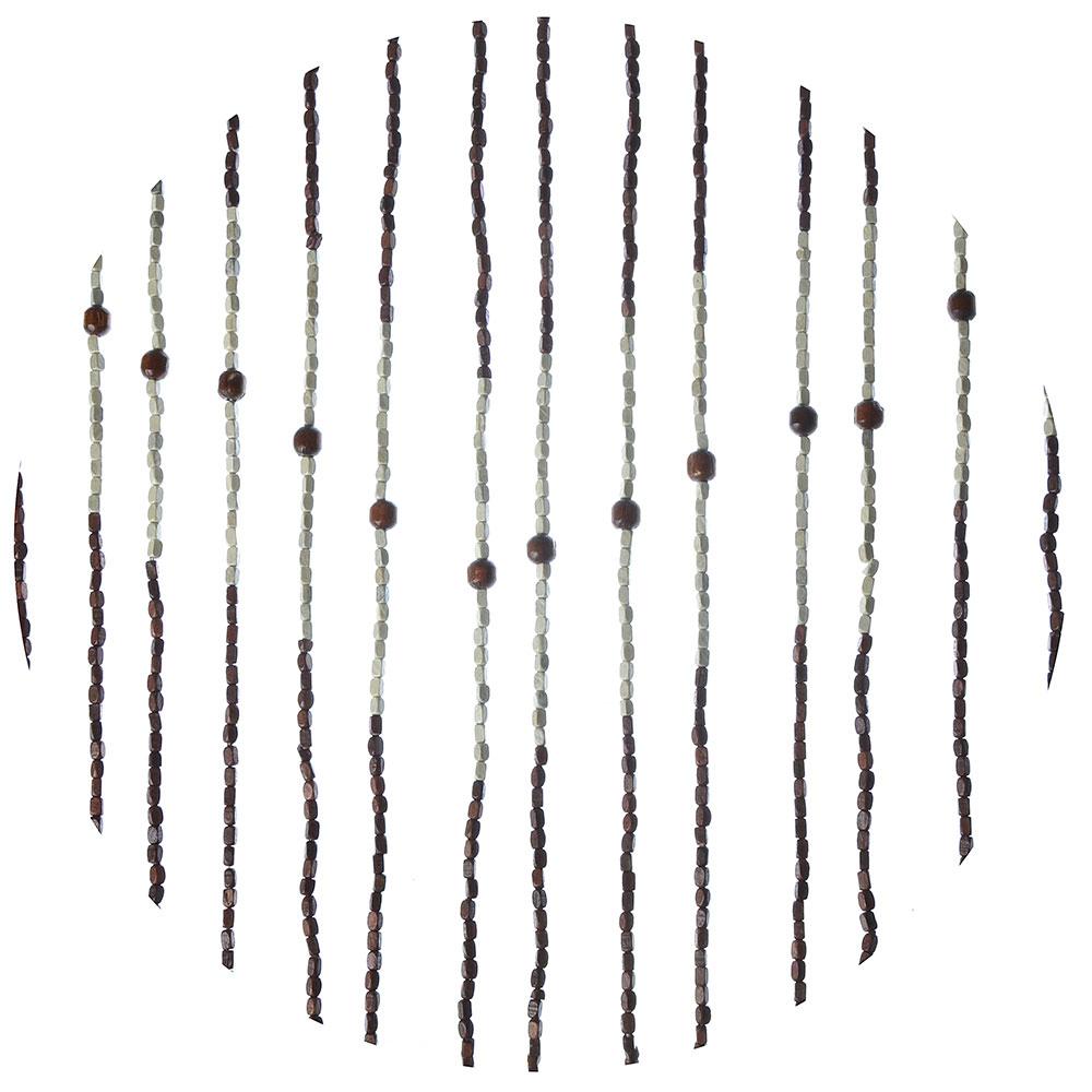 Шторы декоративные межкомнатные, бамбук, 175x90см