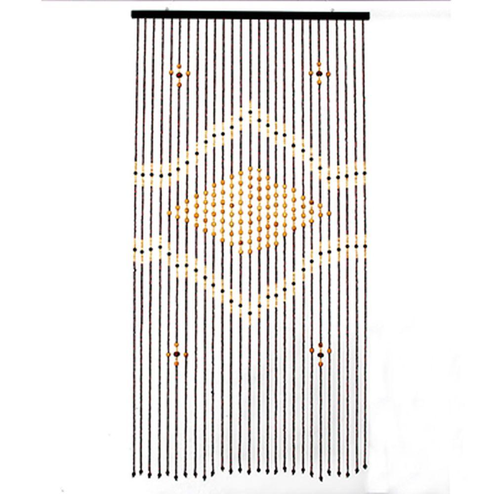Шторы декоративные, бамбук, 175x90см, арт.2725