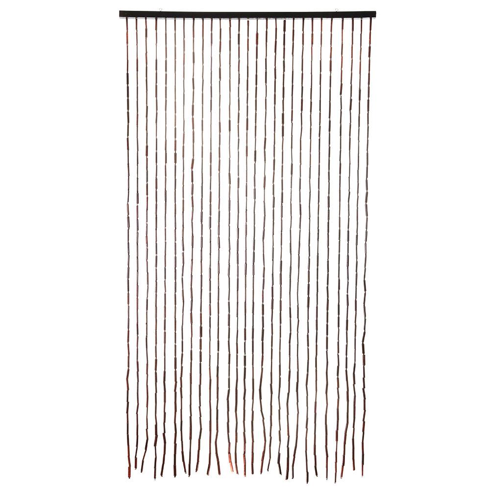 Шторы декоративные, бамбук, 175x90см, арт.8001