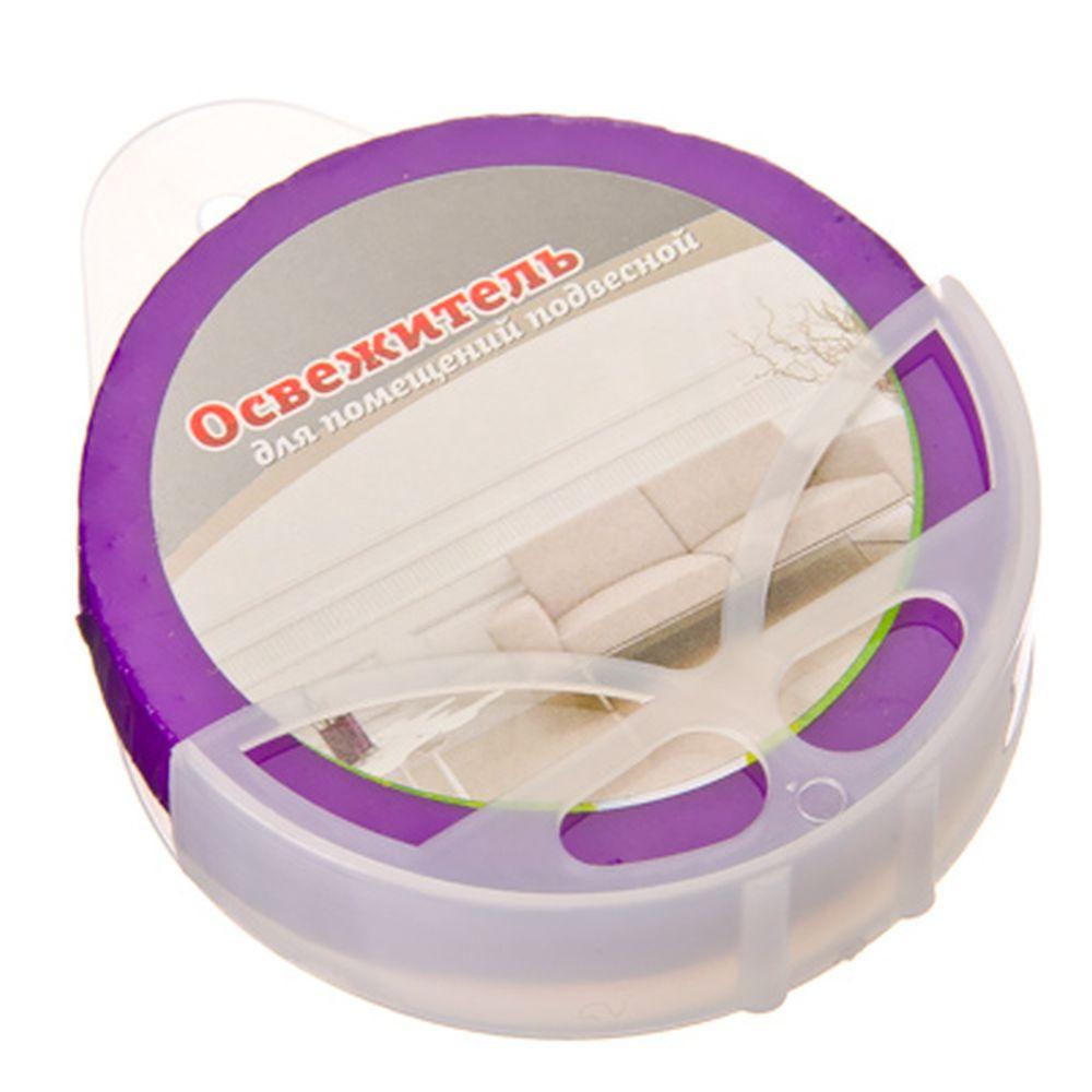 Освежитель таблетка для помещений подвесная, 6 ароматов