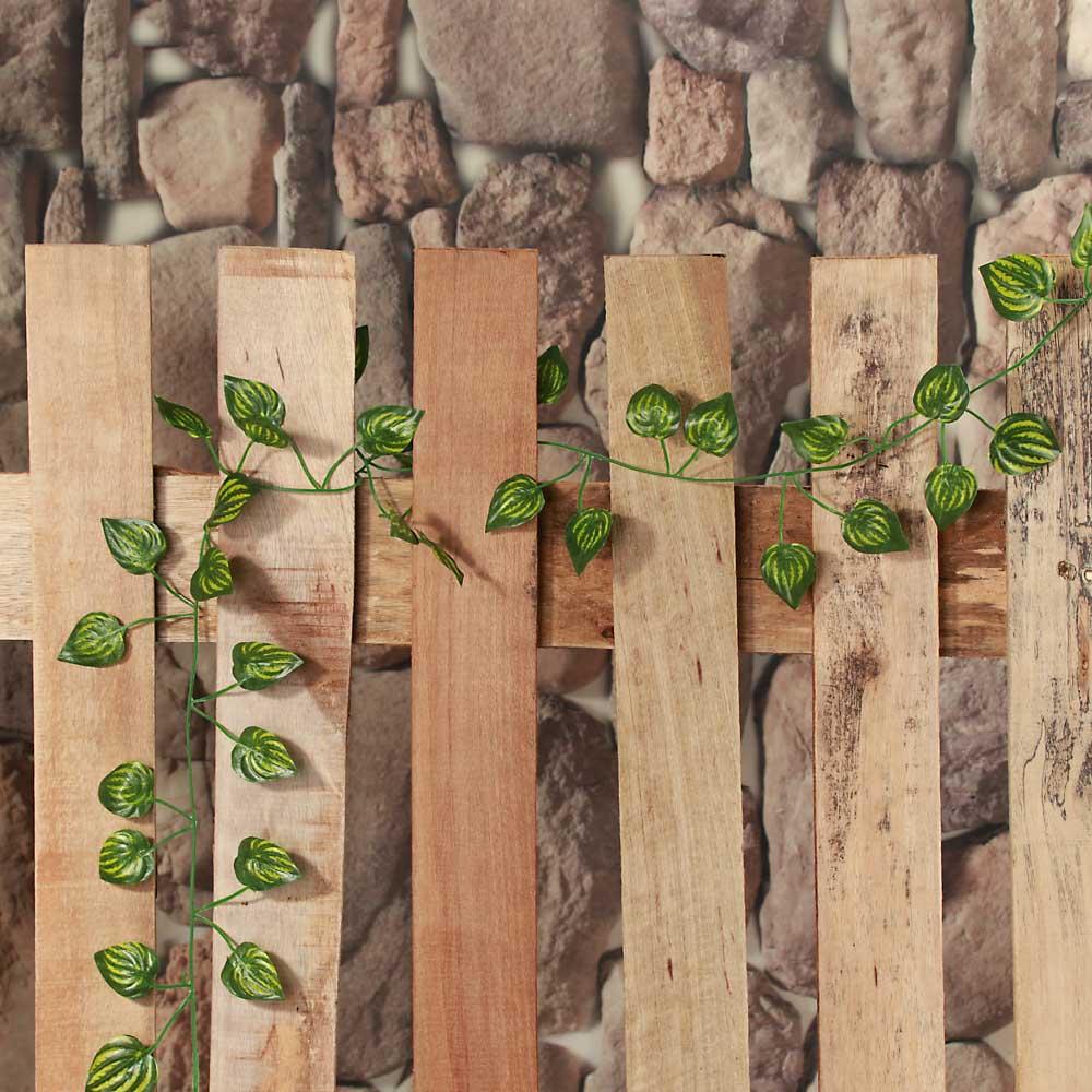 """LADECOR Растение искусственное """"Лиана"""", 2-2,3м, полиэстер, пластик, 2 вида, арт. LIA-1"""