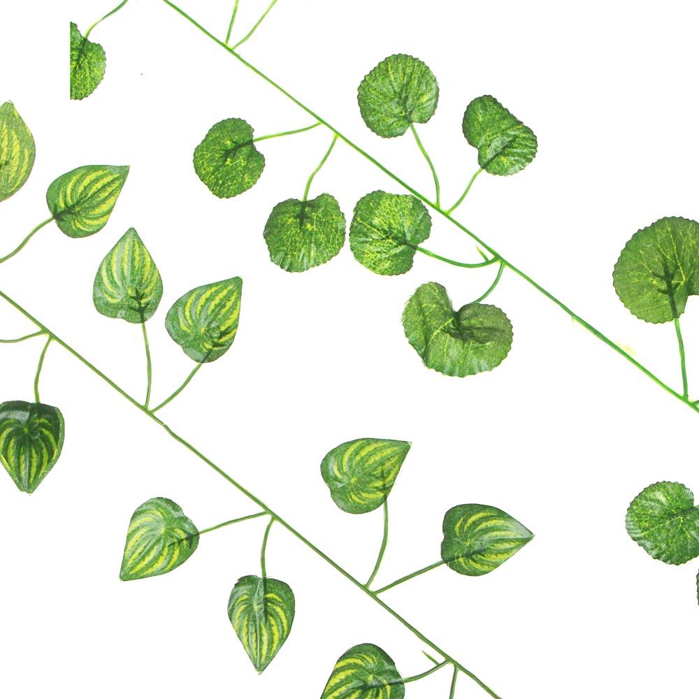 """Растение искусственное """"Лиана"""", 2,1-2,3м, полиэстер, пластик, арт. LIA-1"""