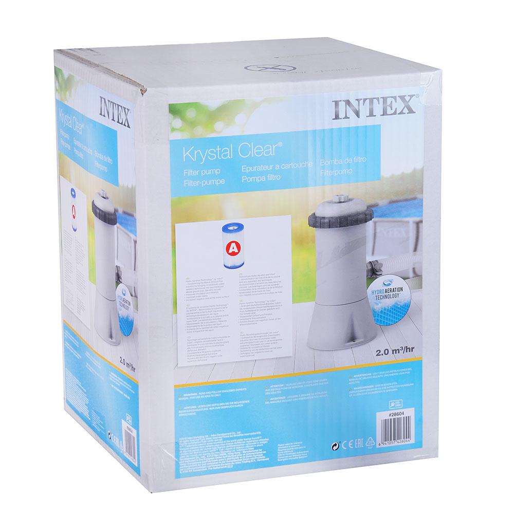 Фильтр-насос для бассейнов INTEX 28604, до 457см