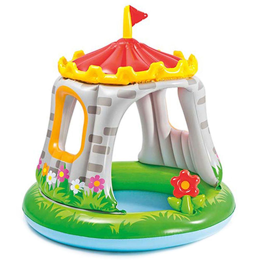 Надувной бассейн для детей INTEX 57122 Крепость 122x122 см,  для 1-3 лет
