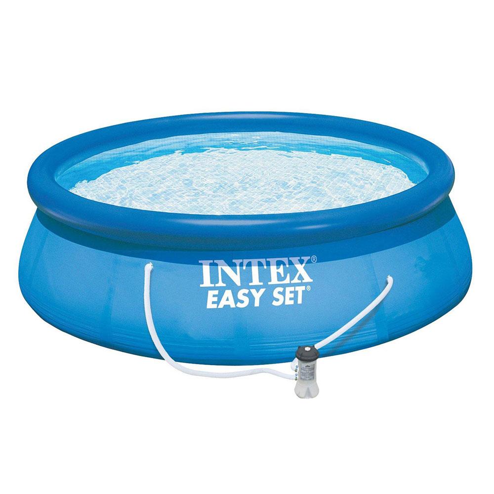 Бассейн надувной INTEX 28132 Easy Set  366x76 см + насос с фильтром