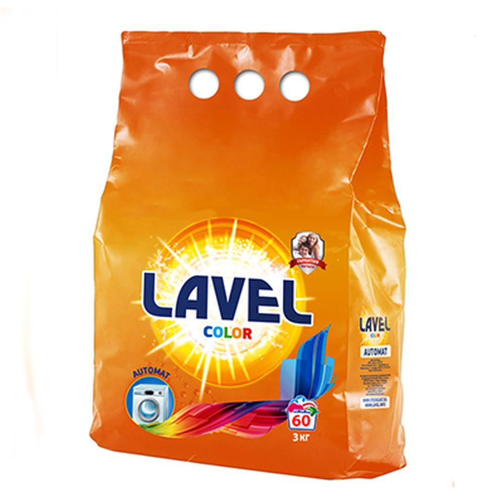 Стиральный порошок LAVEL для цветного белья п/у 3кг, LAAC 30