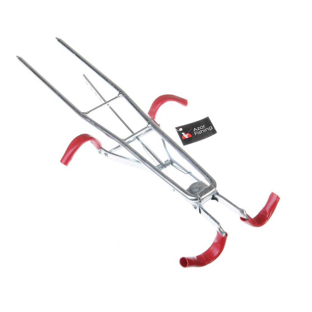 AZOR FISHING Подставка под 2 удочки, металл