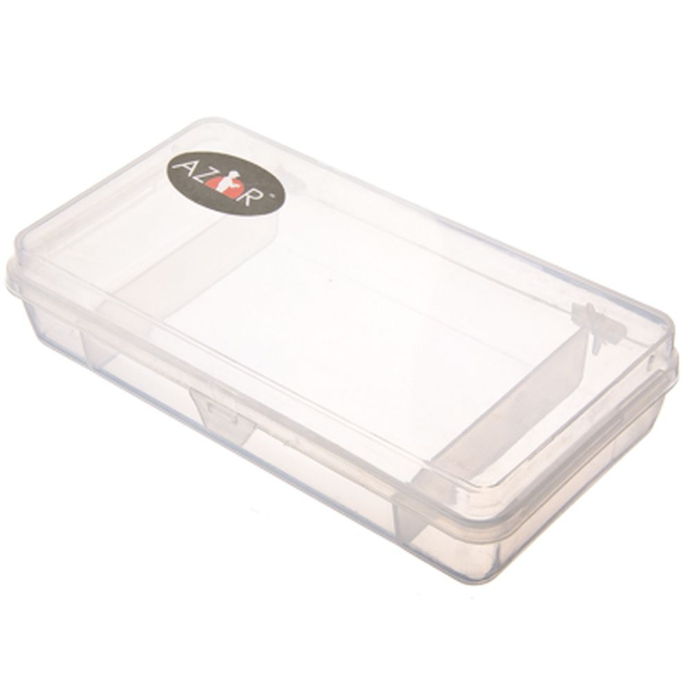 AZOR Органайзер для приманок и крючков, 21х10х4,5см, пластик
