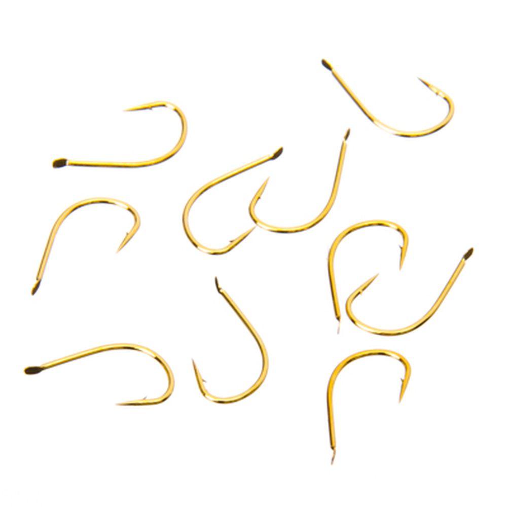 Набор крючков 10шт WINNER 9120 # 4, японская сталь, цвет золото