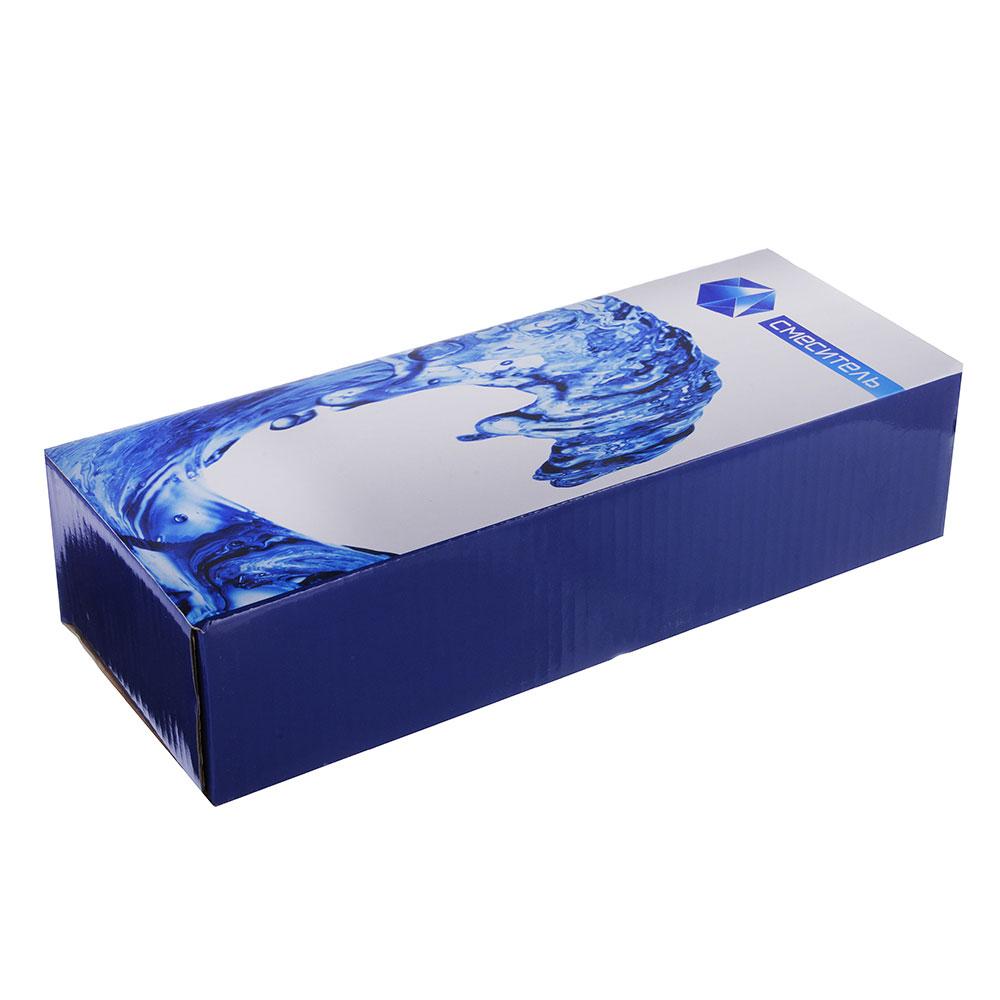 """Смеситель Klabb 09 (02)для ванны, дл. излив, керам. кран-буксы 1/2"""", хром"""