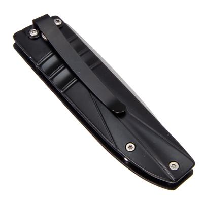 ЧИНГИСХАН Нож туристический складной с зажимом 16,5(7)х2,6см ручка металл, D307