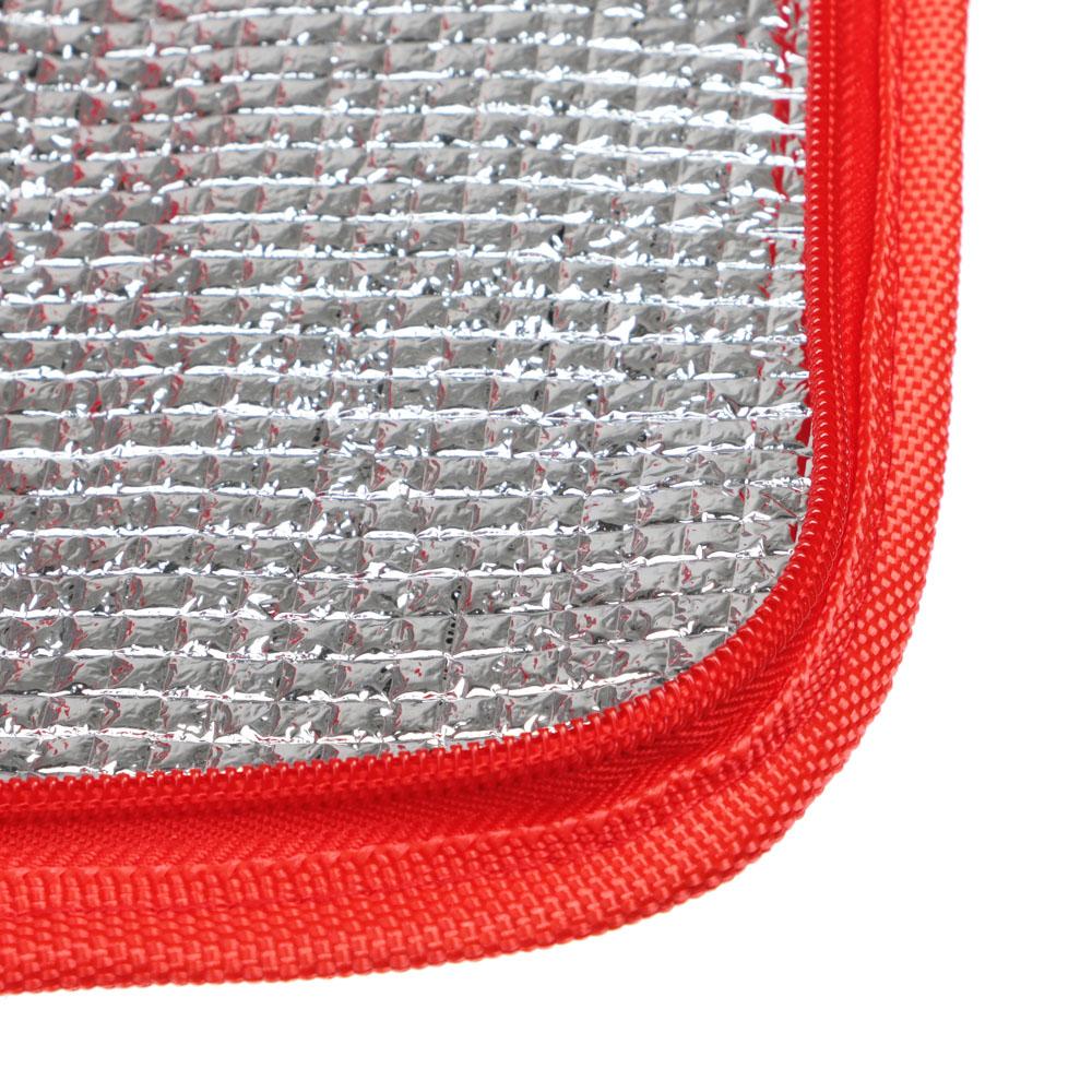Яркое лето Термосумка, 9л, 600D оксфорд, пенополиэтилен, ПЕВА, 20х16х20см, 3 цвета, CL710-2