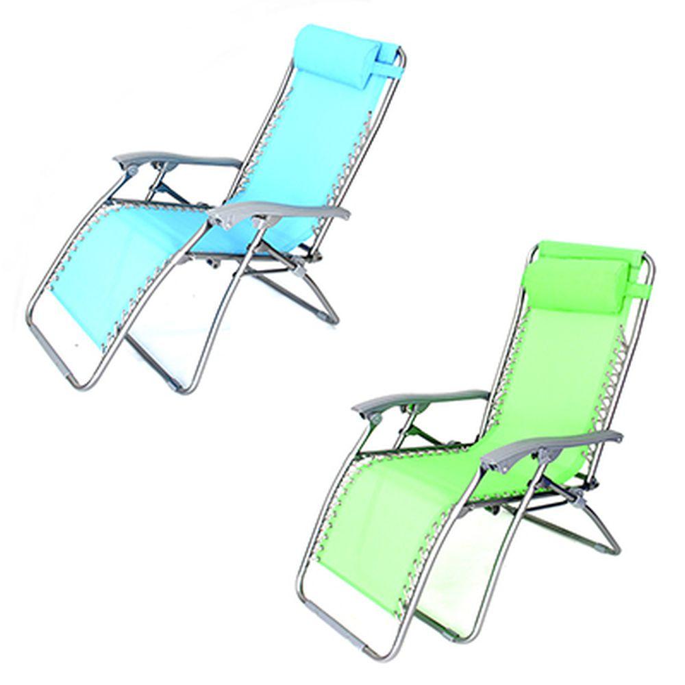 ЧИНГИСХАН Кресло складное, 177х64х113см, сталь d22-19мм, текстилен, до 120кг, 3 цвета, CHO-137-3,4,7