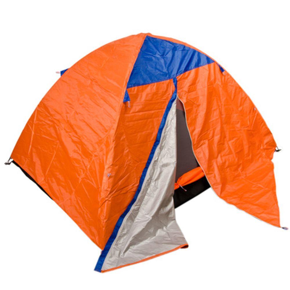 ЧИНГИСХАН Палатка 2-местная, 2сл., (60+200)х150х110см, нейлон 170T, HY-154
