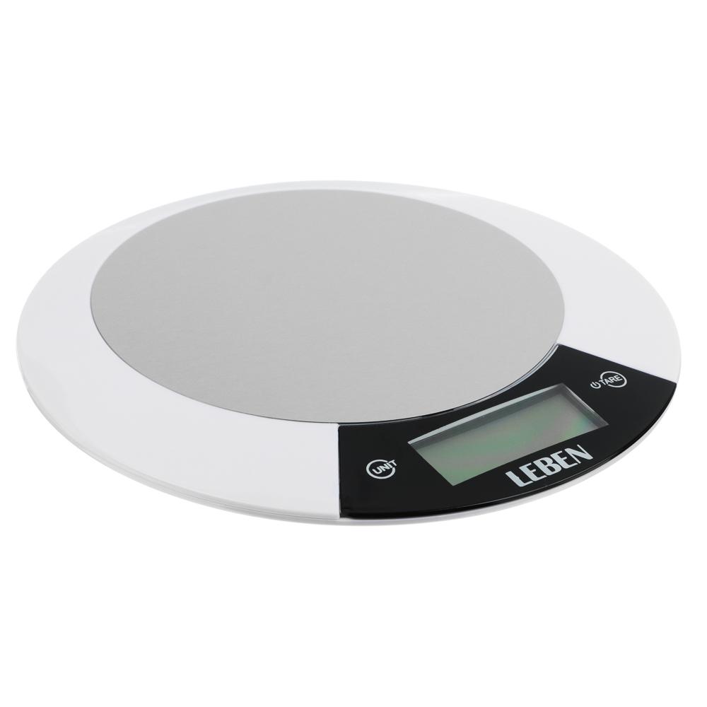 Весы кухонные электронные до 5 кг LEBEN