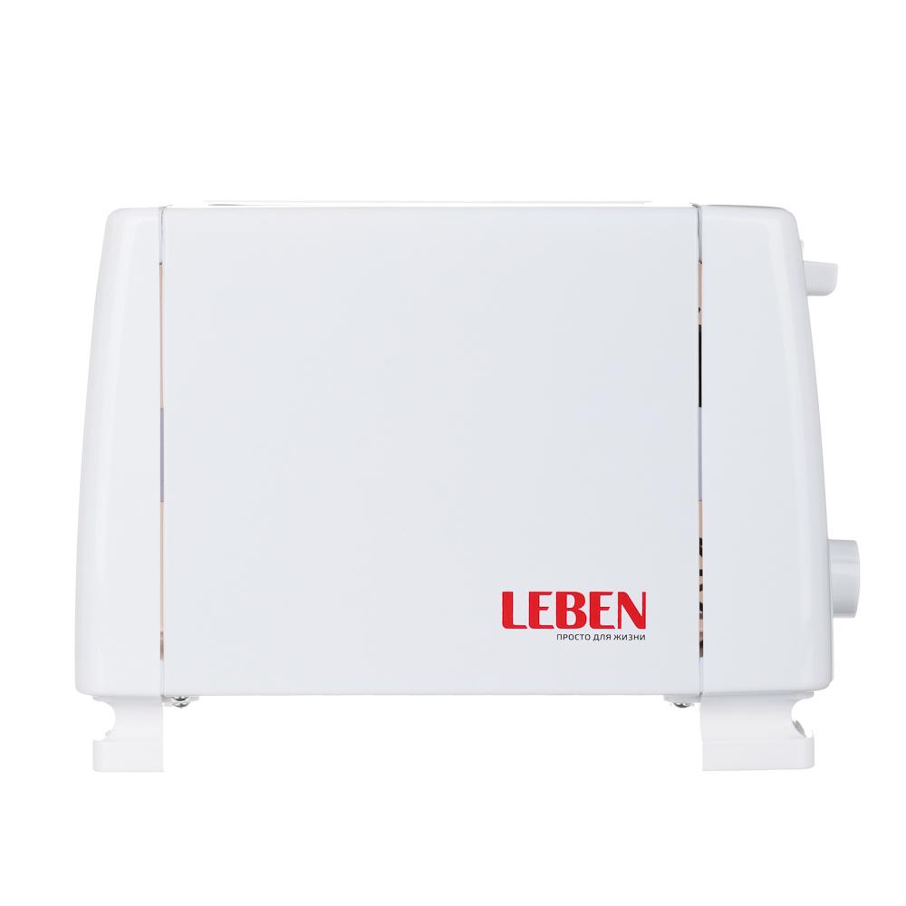 Тостер LEBEN 750Вт, 2 отдел, функция выжигания фигурки на хлебе, 6 степеней поджарки, 220В