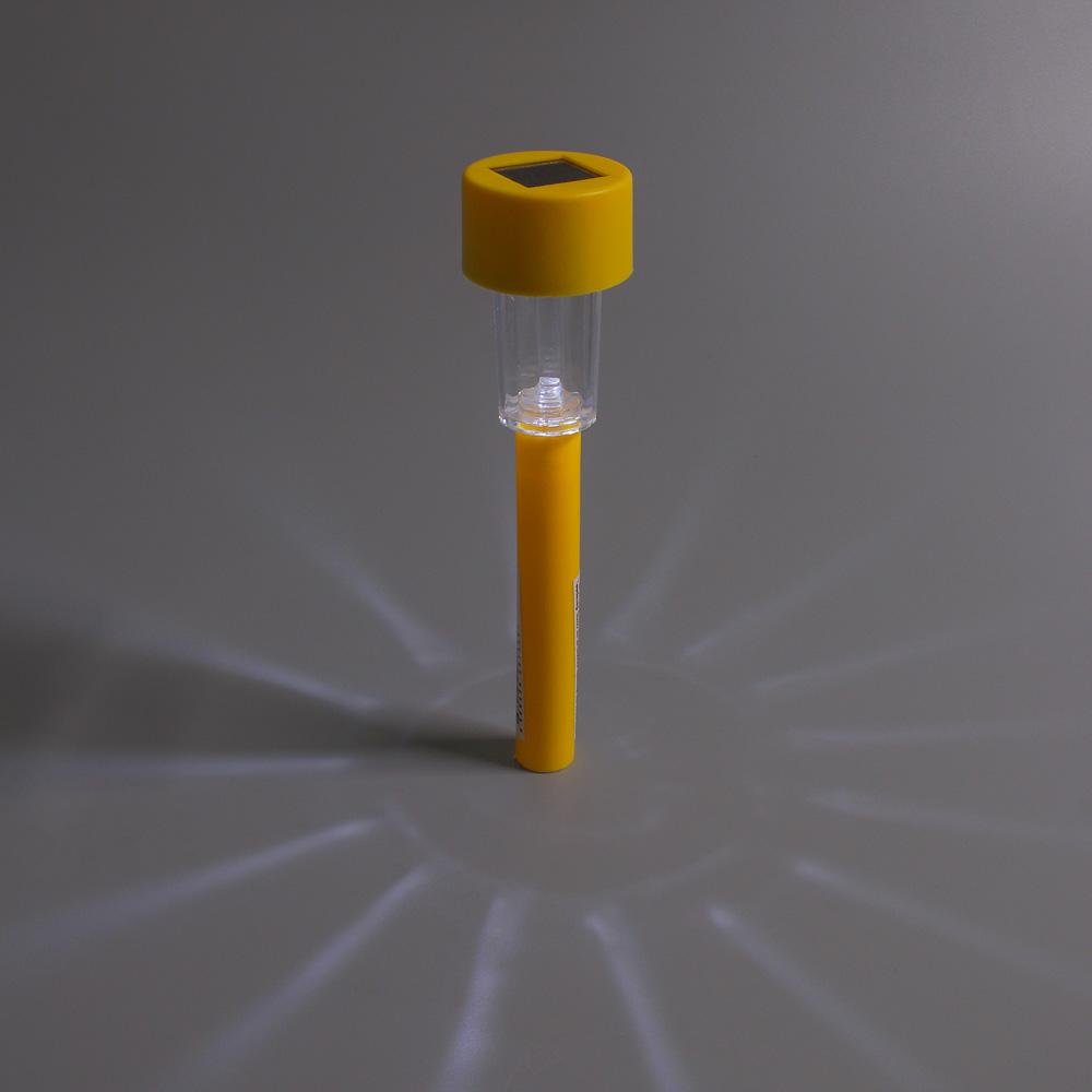 INBLOOM Фонарь садовый на солн. батарее 4,5x4,5x31см, пластик