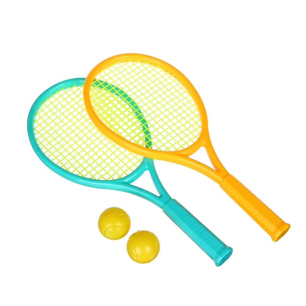 Набор для бадминтона в сетке, ракетка 2 шт, мяч 2 шт., детский, YG3664D