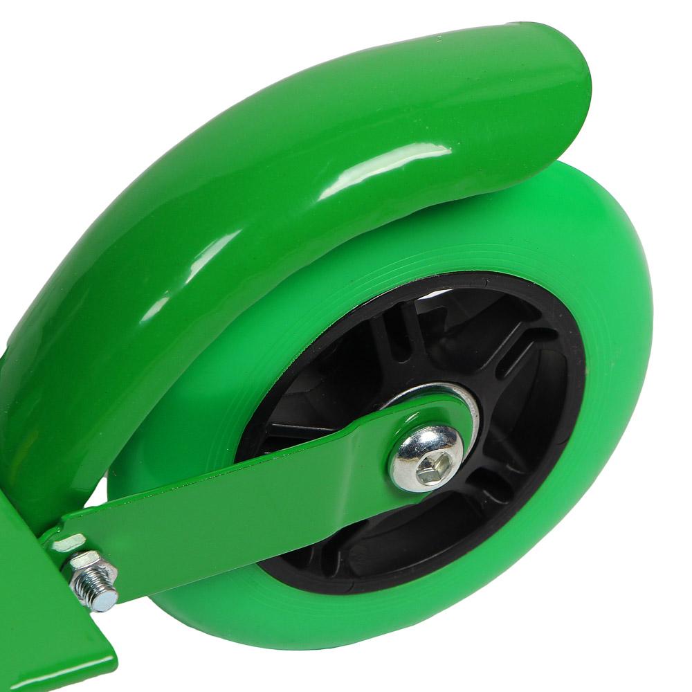 Самокат 2-х колесный,колеса ПВХ, d 95 мм, металл, до 40 кг, 56х75(53)х25 см, 3 цвета, SILAPRO, 015