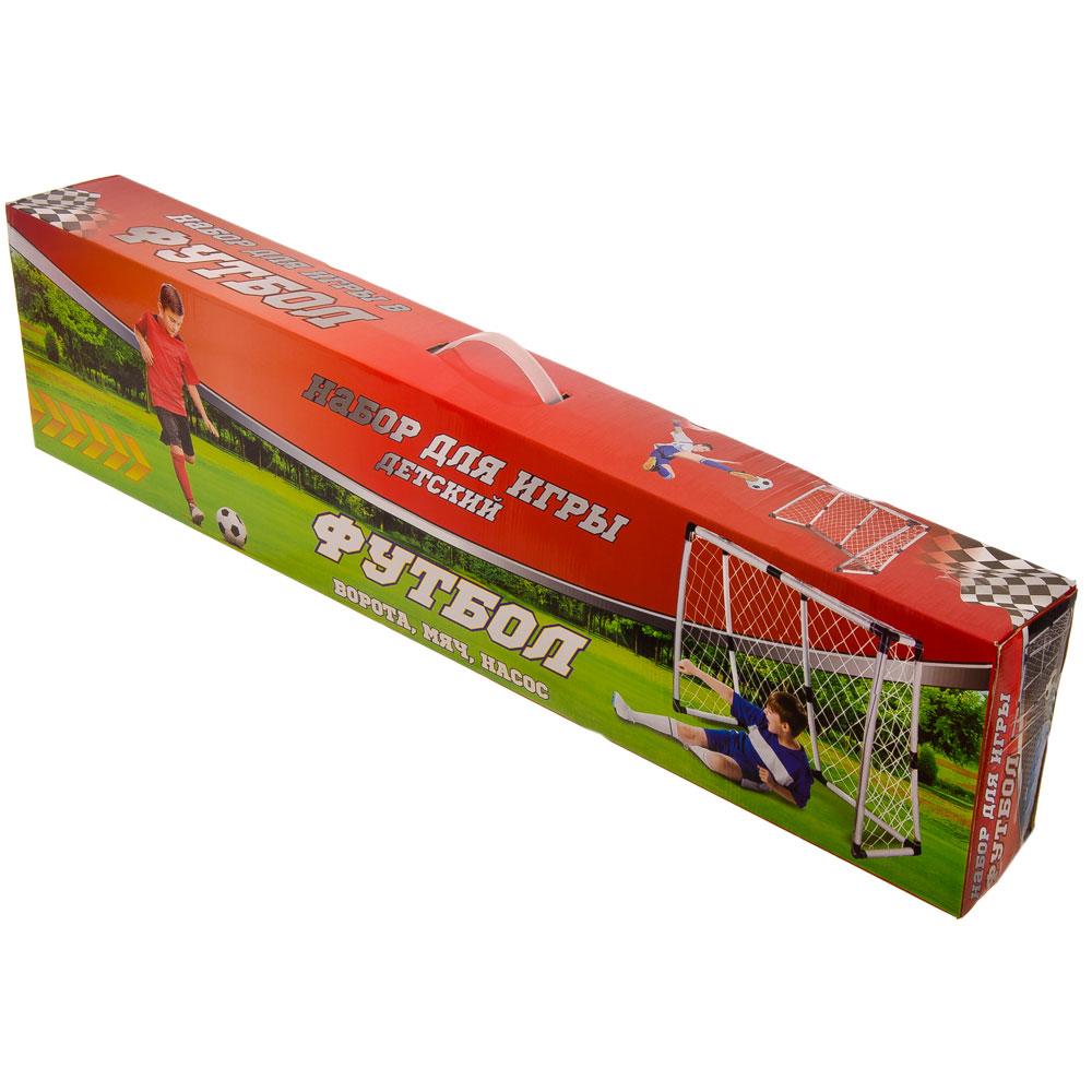 Набор для игры в футбол детский (мяч, насос, ворота 132х101х59см), арт.HF540