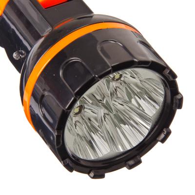 ЕРМАК Фонарь ручной 5LED, 16x5см, пит.220В, 8915