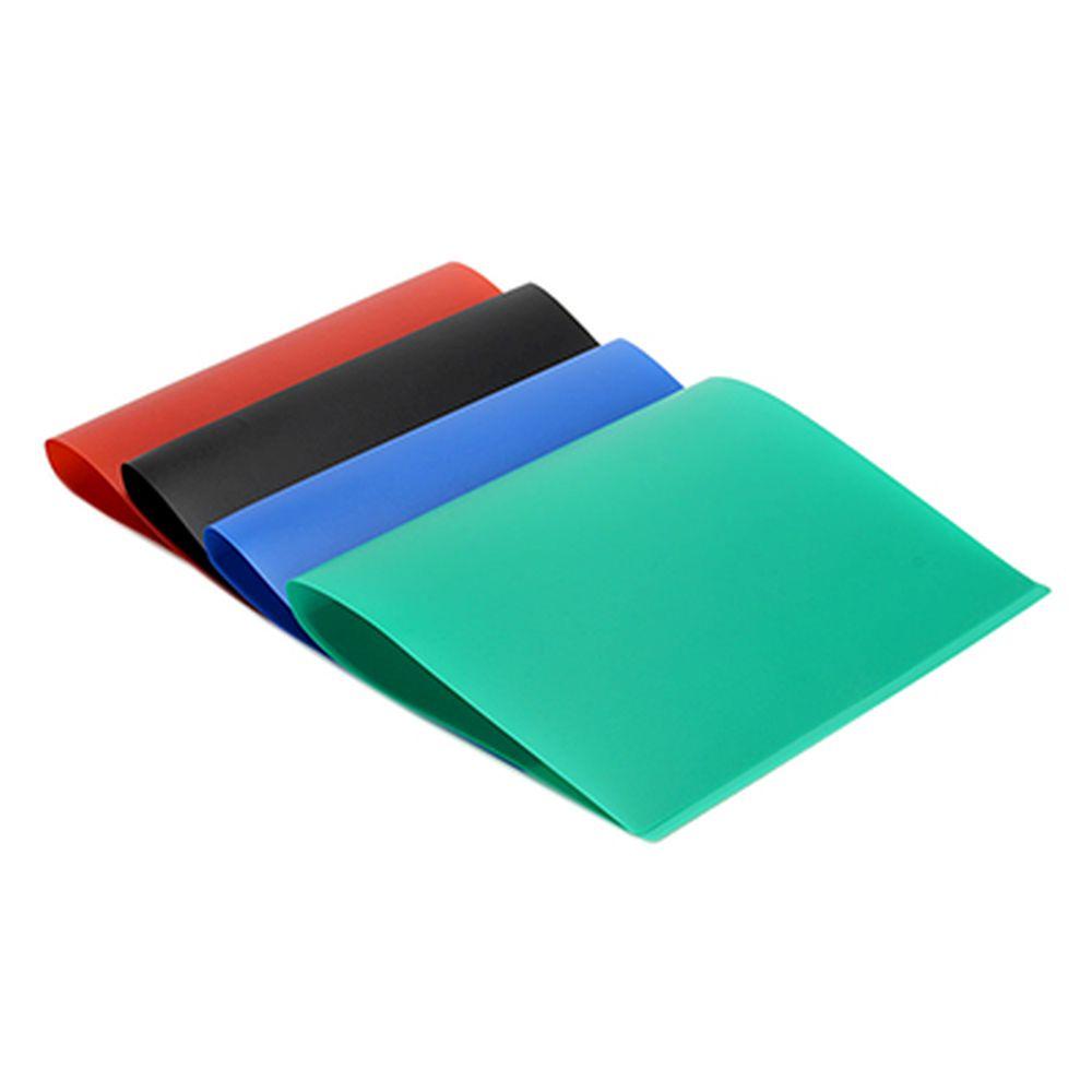 Папка-скоросшиватель, с металлическим зажимом, А-4, ПВХ, 350 микрон, 4 цвета