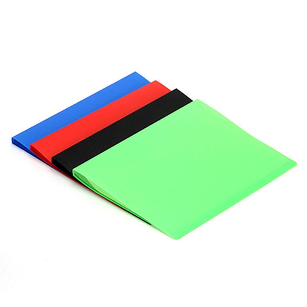 Папка с файлами, А-4, 10 листов (400 микрон-30микрон) ПВХ, 4 цвета