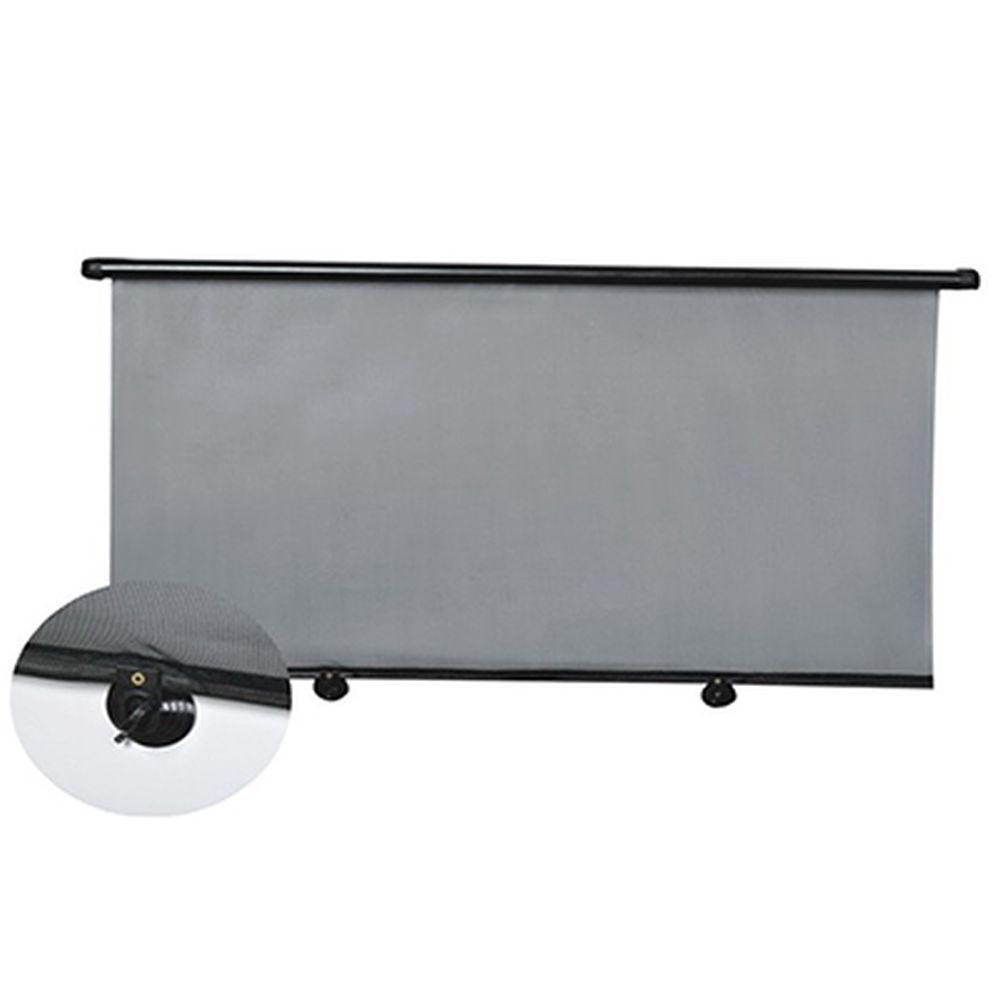NEW GALAXY Шторка солнцезащитная роликовая на заднее стекло на присоске 110x50см, (креп. на шурупы)