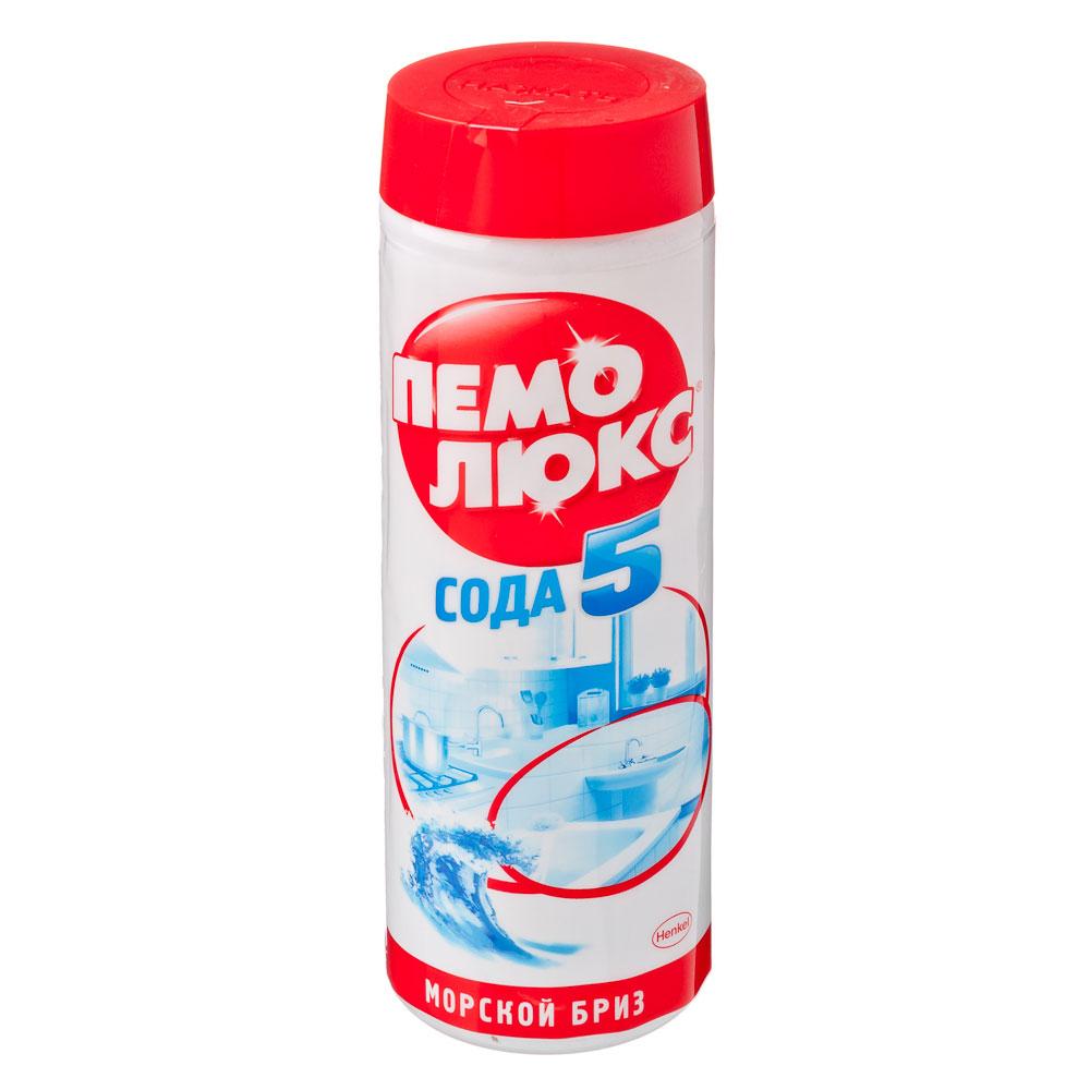 Порошок чистящий ПЕМОЛЮКС Морской Бриз п/б 480г 1996181/2073825