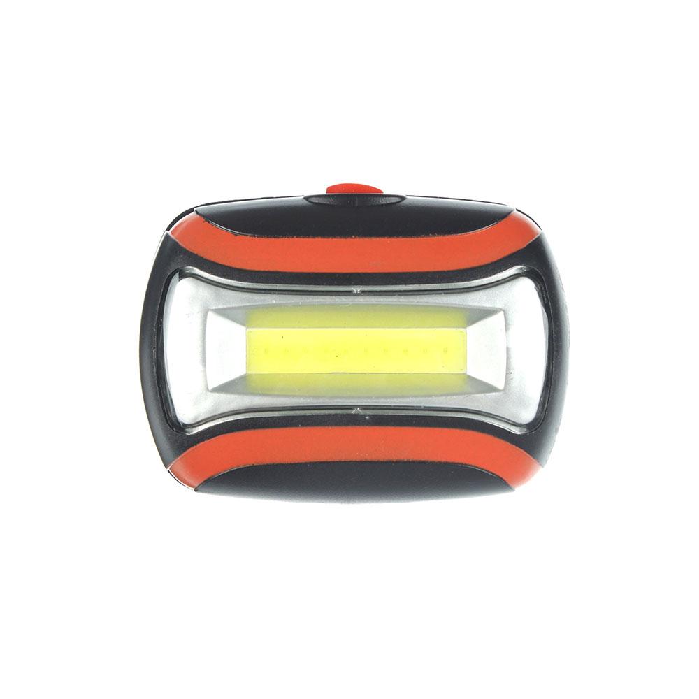ЧИНГИСХАН Фонарь налобный 3 Вт COB LED, 3xAAA, 6,5х4,7х3см
