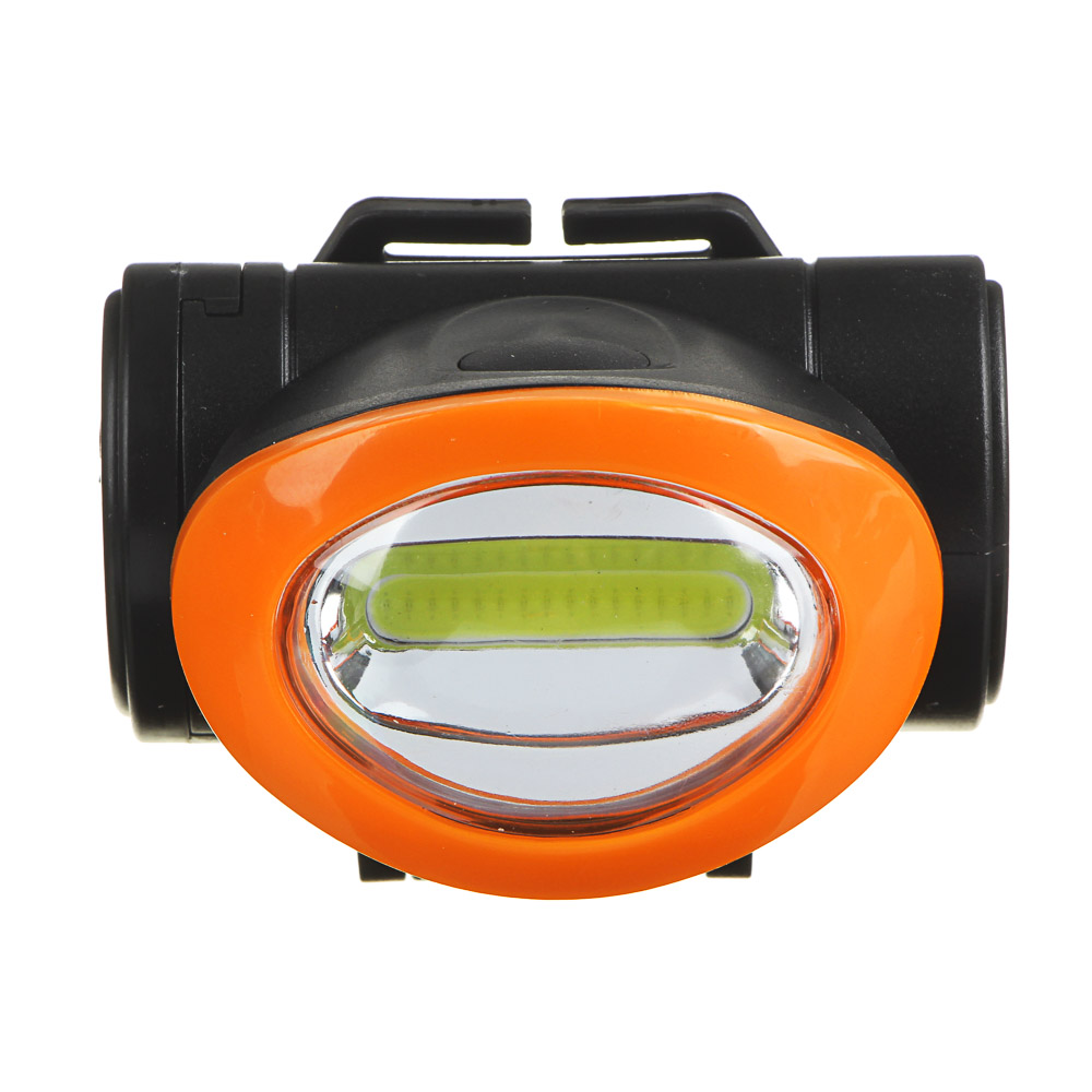 ЧИНГИСХАН Фонарь налобный 5 Вт COB LED, 3xAAA, 6,8х4 см