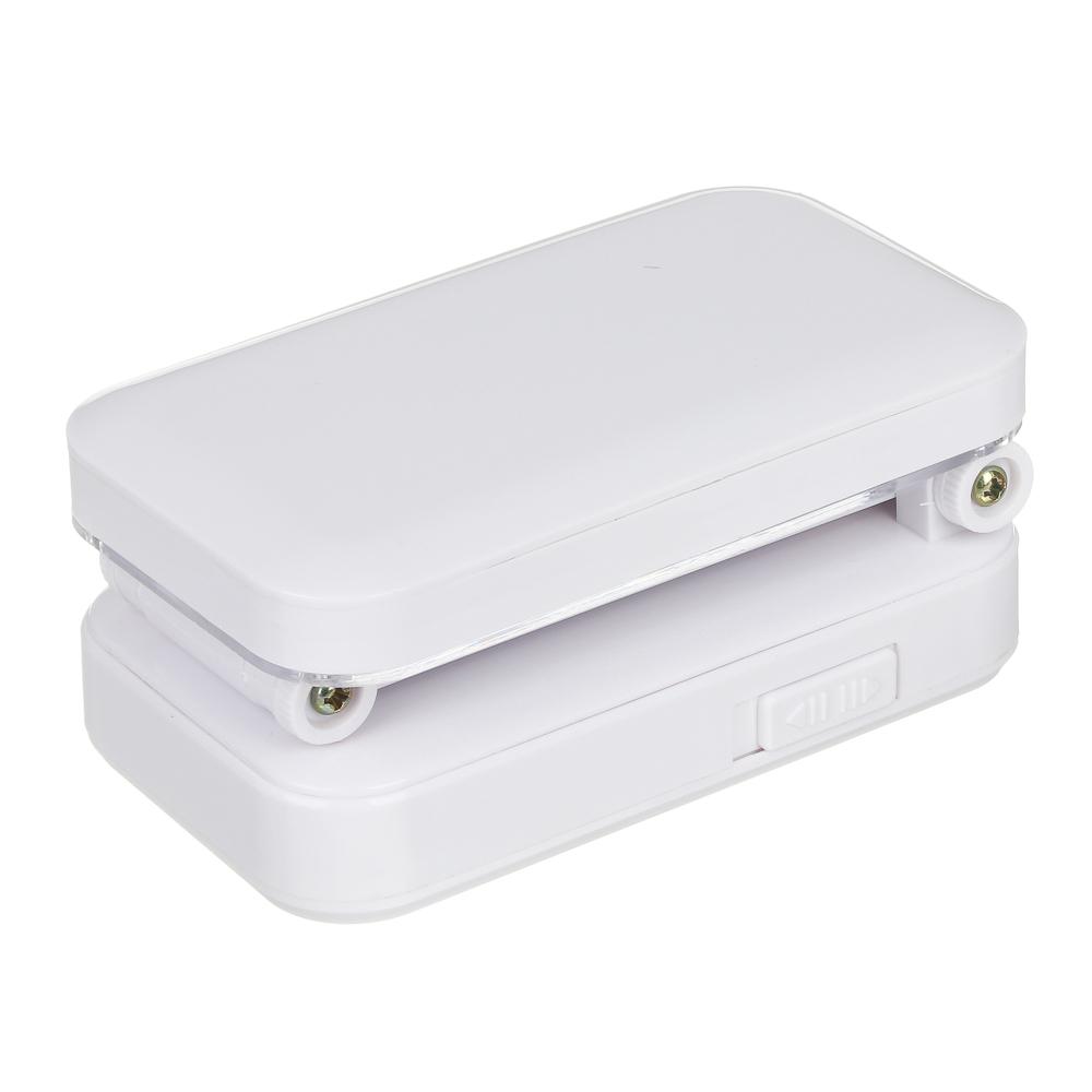 Фонарь - лампа складной 24 ярк. LED, шнур 220В, пластик, 7,5х27х13см